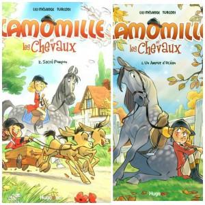 Camomille et les chevaux : une BD pour les passionnés