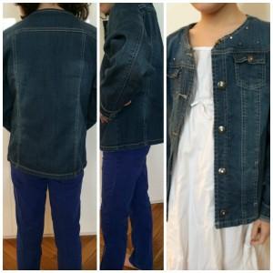 La petite veste en jean, un basic de sa penderie