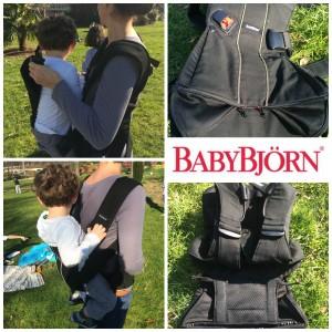 Découverte et avis : porte-bébé ONE de Babybjörn