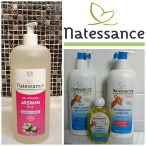 Natessance : des gels douche sans sulfates