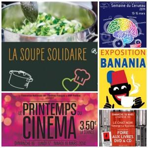 Qu'allons-nous faire ce WE à Paris (15-16 mars)