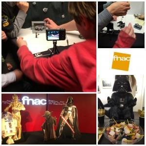 Un atelier LEGO® Star Wars à la FNAC