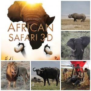 African Safari 3D : des images à couper le souffle