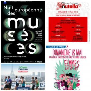 Qu'allons nous faire à Paris (17-18 mai)