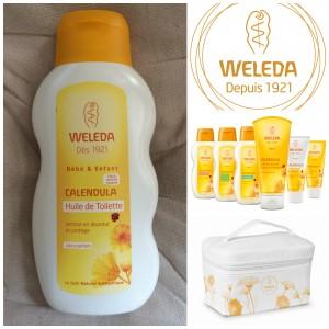L'huile de toilette Weleda [+Concours]