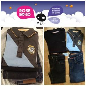 Rose Indigo: leur garde-robe à moindre coût