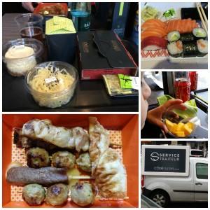Côté Sushi, notre déjeuner japonais en famille