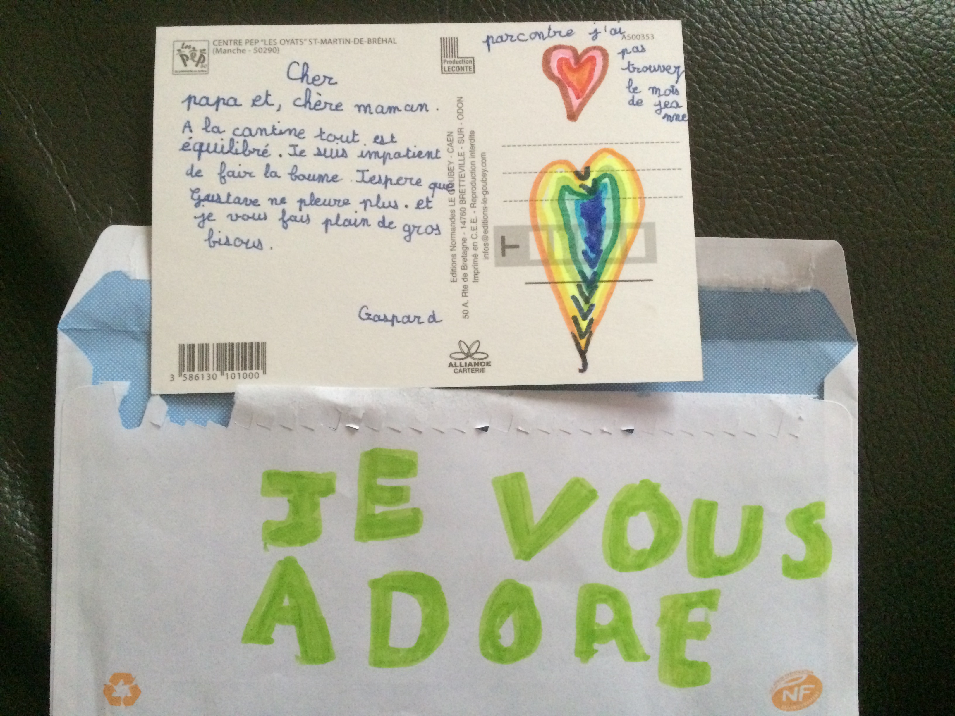 La carte postale de Gaspard