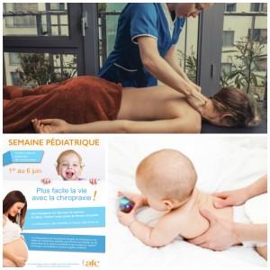 La semaine pédiatrique de la chiropraxie
