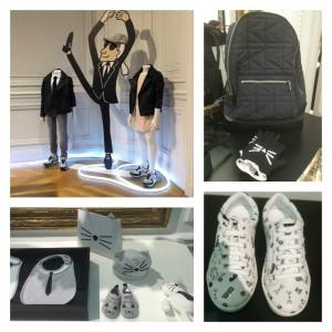 Première collection Karl Lagerfeld Kids