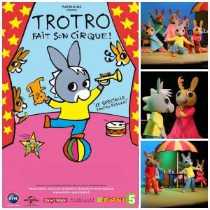 Trotro fait son cirque aux Folies Bergère