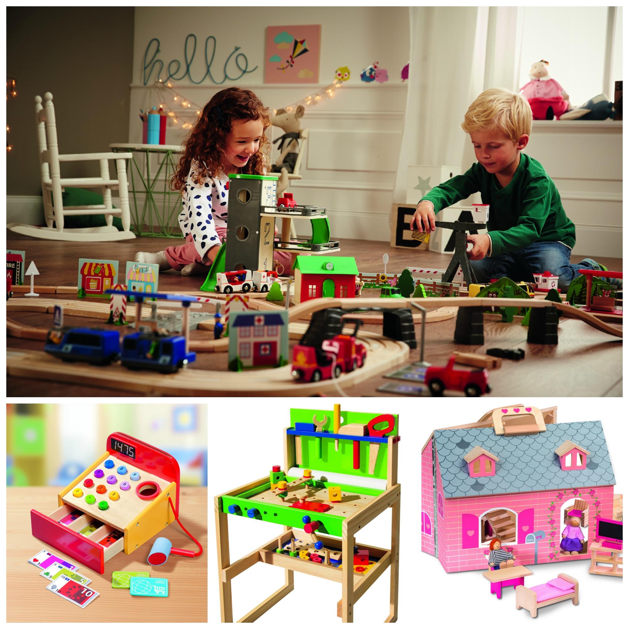 Maison En Bois Lidl : Les jolis jouets en bois Lidl [+Concours] Expressions d'Enfants