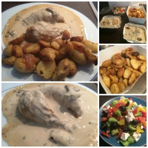 Repas de fêtes pour gourmande paresseuse