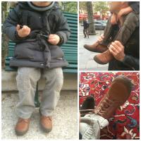 Bopy, ses chaussures de grand