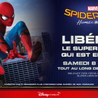 Disney Store, une journée spéciale Spider-Man